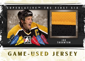 Game-Used Jersey Thornton