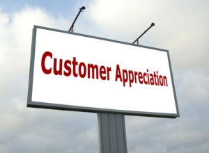 Customer Appreciation Logo